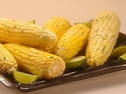 roasted corn on the cob with cilantro lime butter recipe the