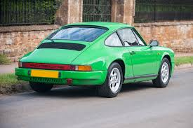 1985 porsche 911 3 2 carrera in speedway green sold ferdinand