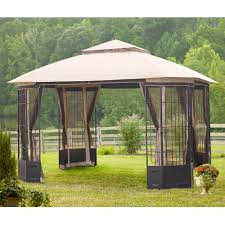 Patio Gazebos by Steel Patio Gazebos Patio Accessories The Home Depot