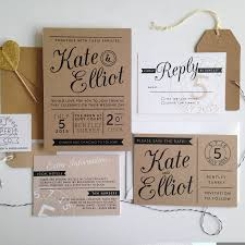 kraft paper wedding invitations kraft wedding invitations kraft wedding invitations for your