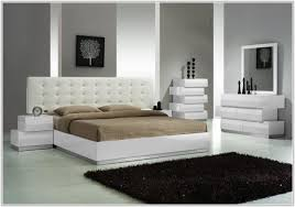 Azure Black Faux Leather Bedroom Furniture Bedroom  Home - White faux leather bedroom furniture