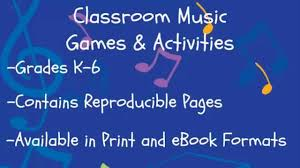 classroom music games and activities youtube