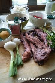 cuisiner poulpe poulpe en salade dans la cuisine de françoise