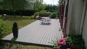 nettoyage terrasse bois composite photo terrasse composite elegant lames de terrasse composite m