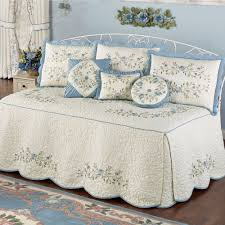 vintage charm quilted daybed bedding set