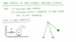Example Of Introdu Introduction To Undamped Free Vibration Of Sdof 1 2 Structural