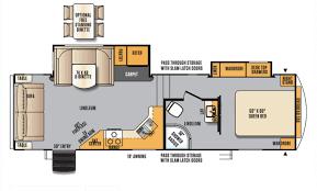 Wildcat Rv Floor Plans 2017 Forest River Wildcat Maxx Wcf252rlx Bucars Rv Dealers