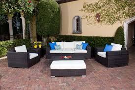 Best Deep Seat Sofa Deep Seating Wicker Patio Furniture Sets I Spacious Design