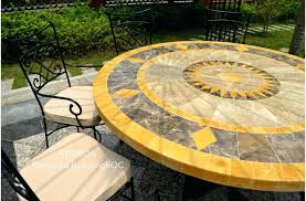 Marble Patio Table Metal Patio Table Marble Top Patio Outdoor