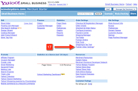 setting up referralcandy for aabaco from yahoo stores