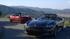 fiat spider vs miata motor trend can u0027t decide which is better between mazda mx 5 and