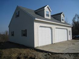 prefab garages with apartments built on site custom amish garages in oneonta ny amish barn company