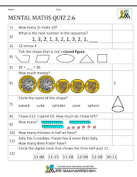 Math Help Worksheets Printable Mental Maths Year 2 Worksheets