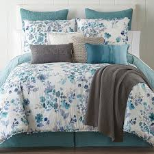 Bed Comforters Sets Jcpenney Home Clarissa 4 Pc Reversible Comforter Set Jcpenney