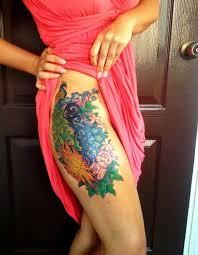 best 24 thigh tattoos design idea for women tattoos art ideas