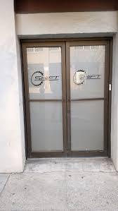 custom etched glass doors custom decals for glass doors
