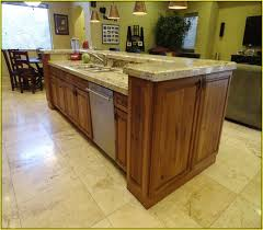 Kitchen Island With Sink And Dishwasher by Kitchen Islands With Sink Home Design Ideas