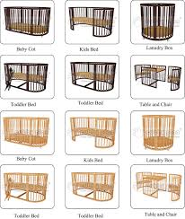 Convertible Baby Crib Plans Cubby Plan Designer Adjustable Convertible Multi Purpose Standard