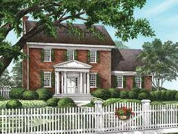 Brick Colonial House Plans Scintillating House Plans For Colonial Homes Contemporary Best