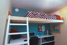 4 Bed Bunk Bed Built In Loft Beds Ana White Loft Bed As Seen On Hgtv Saving