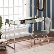 Overstock Home Office Desk 9 354 Upton Home Adelie Mirrored Writing Desk Office Furniture