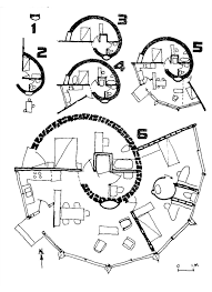 Round House Plans Floor Plans by Spiral Home From The Owner Built Home Especially Enjoy How