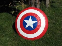 flying captain america shield 16 steps pictures