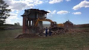 halloween city lancaster ohio mudhouse mansion demolished