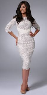 white lace dress with sleeves knee length white lace knee length dress fashion dresses