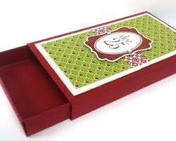christmas gift card boxes christmas gift card box open view