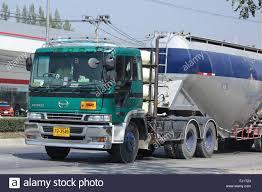 chiangmai thailand february 8 2016 cement truck of boon yarit