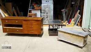 Midcentury Modern Finds - entertainment console from curbside dresser prodigal pieces