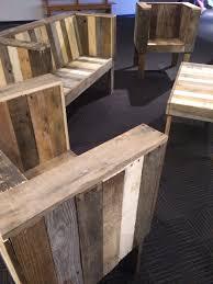 Diy Wood Pallet Patio Furniture - unique black pallet patio furniture beautiful diy for decorating