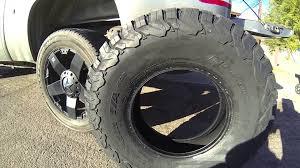 Bf Goodrich Rugged Terrain Reviews 285 70r16 All Terrain Tires With Bfgoodrich Rugged T A Tire Review