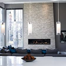 stone wall fireplace contemporary living room in grey tones contemporary living room
