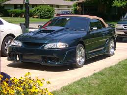 Black 95 Mustang Gt 1995 Ford Mustang Information And Photos Zombiedrive