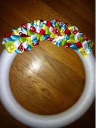 ribbon wreath best 25 ribbon wreaths ideas on wreaths wreath
