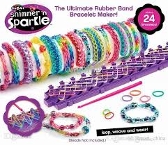 bracelet rubber bands maker images Shimmer 39 n sparkle rainbow loom kit cra z loom bracelet maker for jpg