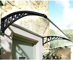 Awning Sun Front Door Glass Porch Canopy Fiberglass Uk Instant Fit Rain Cover