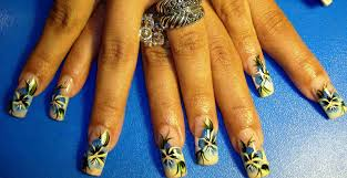 flowers designs nail art archive style nails magazine