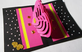 diy 3d kirigami card ideas how to make pop up
