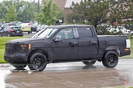 nissan frontier jacked up spied 2015 ford f 150 testing truck trend news