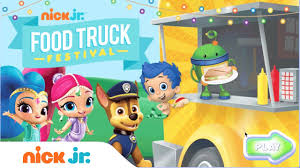 play food truck festival for free w paw patrol bubble guppies
