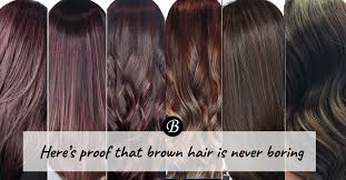the latest hair colour techniques trending colour techniques shows why brown hair is never boring