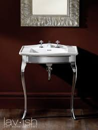 Bathroom Sink Console Table Console Sink With Metal Legs Foter