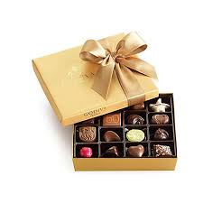 assorted gift boxes assorted chocolate gold gift box classic ribbon 19 pc godiva