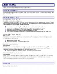Resume Sample Of Cashier by Resume Examples Sales Associate Retail Free Resume Example And