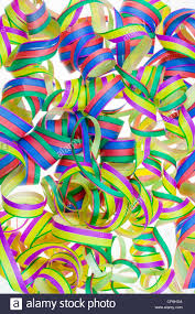 new years streamers paper christmas new year s streamers background stock photo