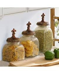 fleur de lis kitchen canisters fall into these black friday savings clear fleur de lis canister