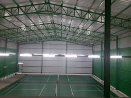 R S Roofing by Buy Badminton Court Constructions In Chennai 80x60 Hite 33 For
